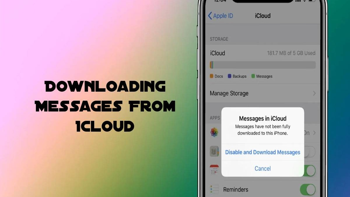 How to Enable Messages in iCloud and Fix Stuck Message Downloads