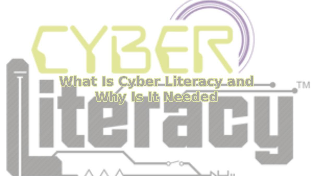 What Is Cyber Literacy and Why Is It Needed