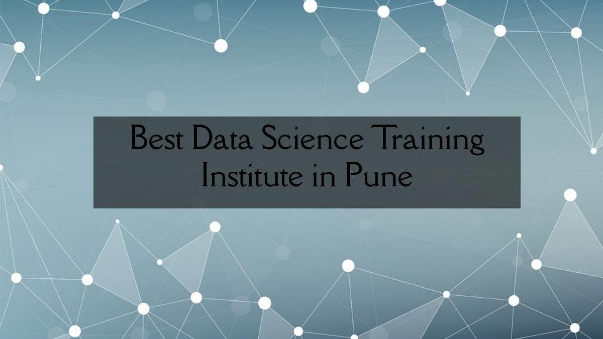 Best Data Science Training Institute in Pune