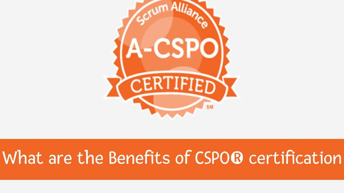 What are the Benefits ofCSPO®certification?