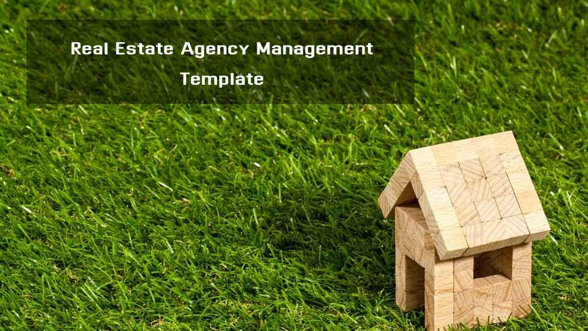 Real Estate Agency Management Template